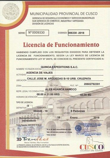 LICENCIA DE FUNCIONAMIENTO-QE